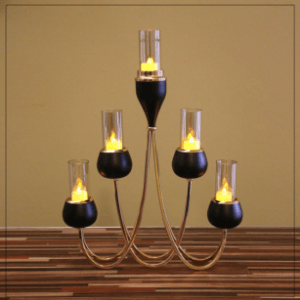 Black Votive Collection
